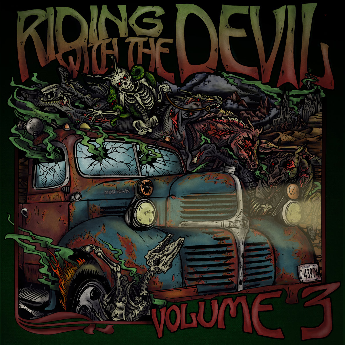 Animi Vultus - All of My Dirt from Riding With The Devil, Vol. 3 (CD 2) by The Burning Beard